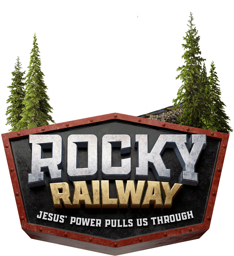 Rocky Railway VBS logo.